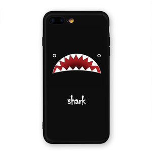 2018 Newest Phone Cases For iPhone 7 8 7 Plus Case Fish Shark Eagle Cat Bottle Bird Hard PC Back Cover For iPhone 7 6 6S Plus, iPhone Cases - Batoo