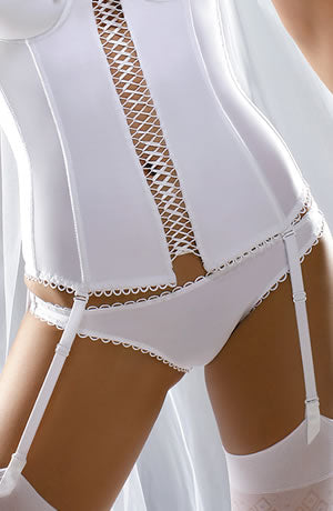Bridal lingerie - white knickers