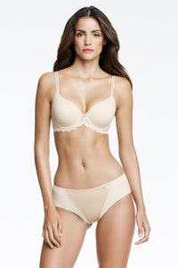 T shirt bra in nude