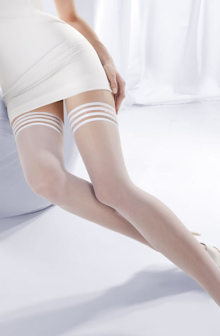 Princessa White Hold Ups