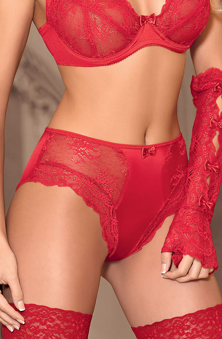 Red Lace knickers - Lingerie