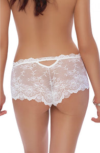 Mela French Knickers in White