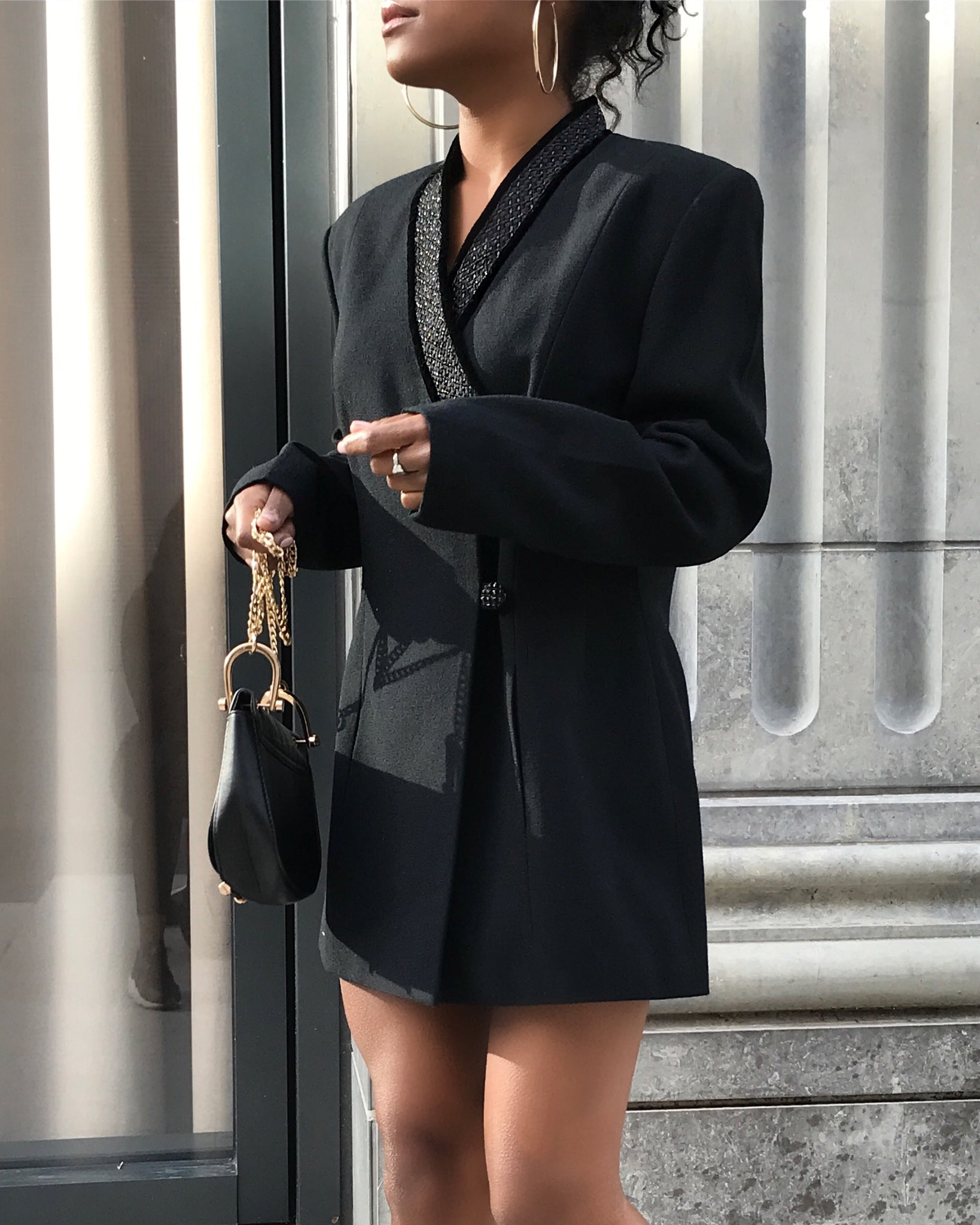Little Black Blazer Dress