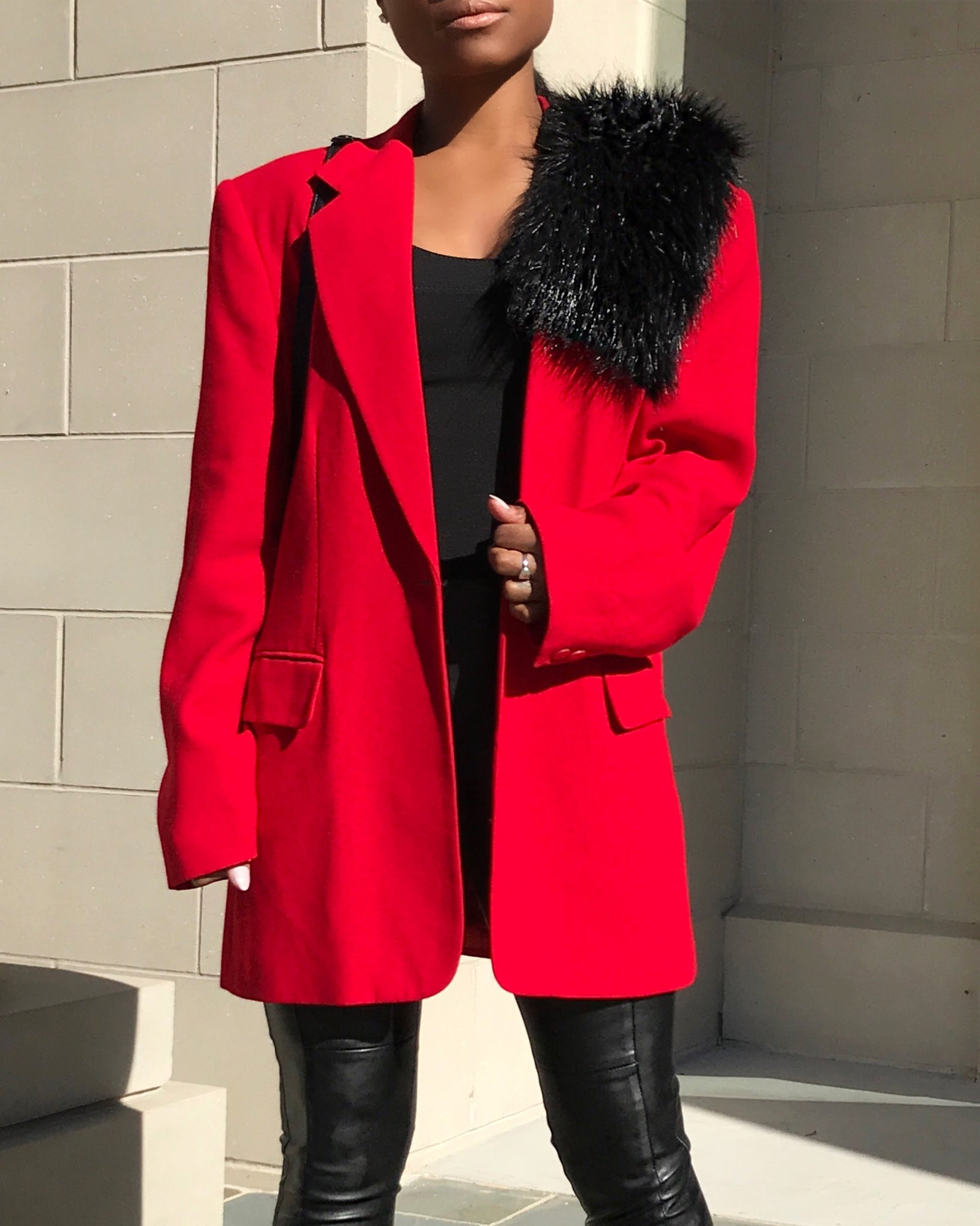 Candy Red Blazer