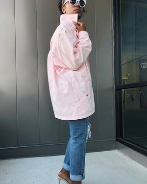 Powder Pink Windbreaker