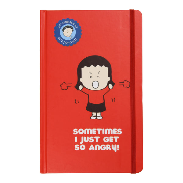 Sometimes I just get so angry! Lined Blank Journal