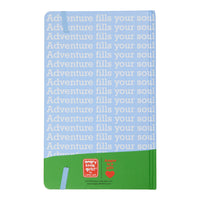 """Adventure Fills Your Soul"" Lined Blank Journal"