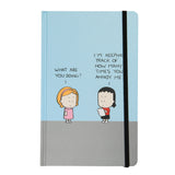 """I'm keeping track of how many times you annoy me"" Lined Blank Journal"