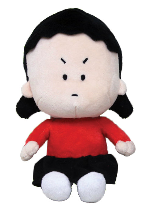 Angry Little Asian Girl Plush Doll