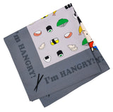 """I'm HANGRY!"" Furoshiki wrapping cloth"