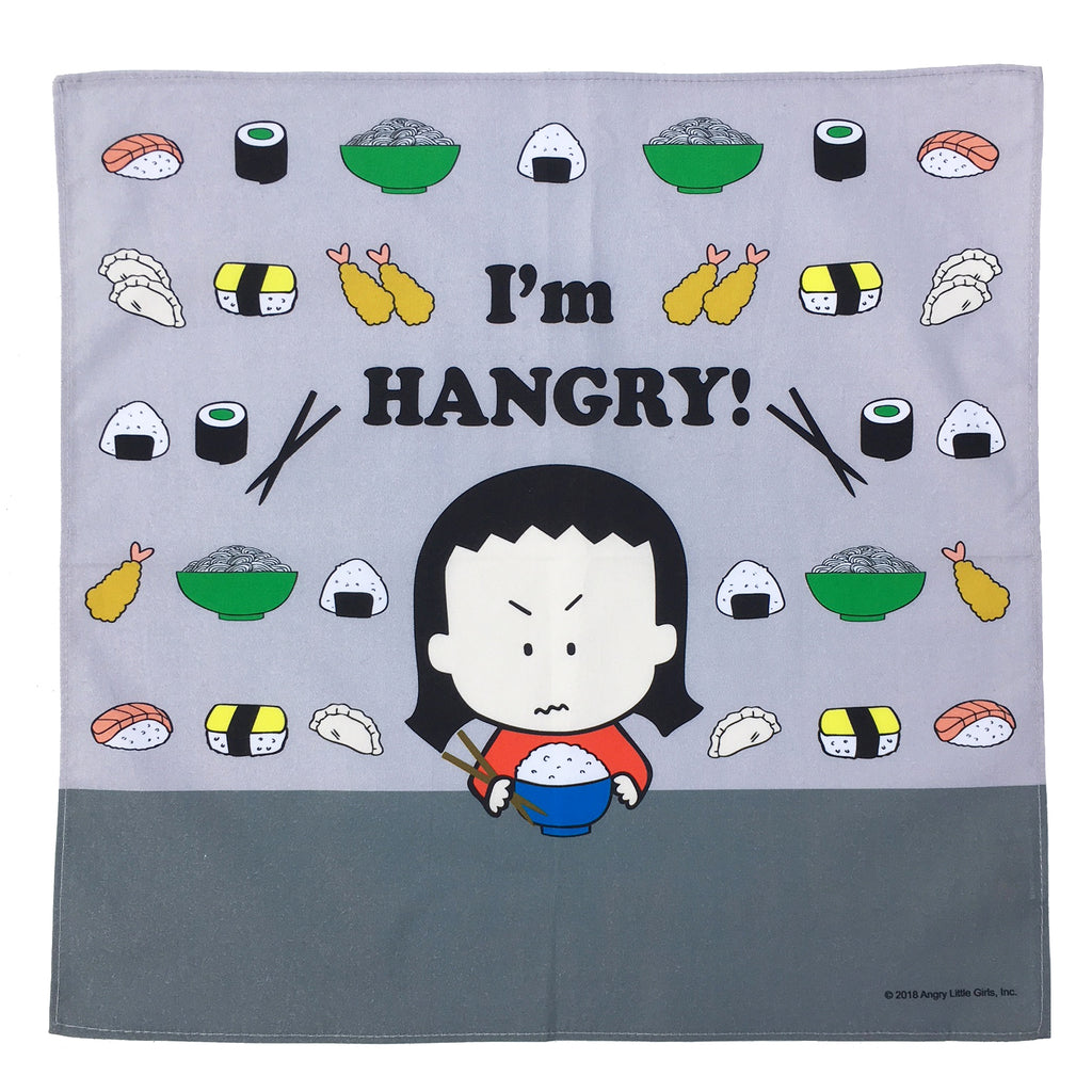 I'm HANGRY! Asian Food napkin