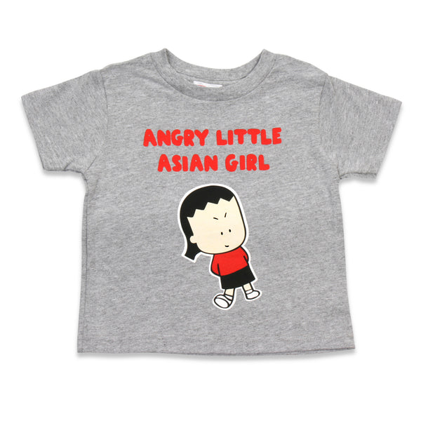 Angry Little Asian Girl TODDLER tshirt