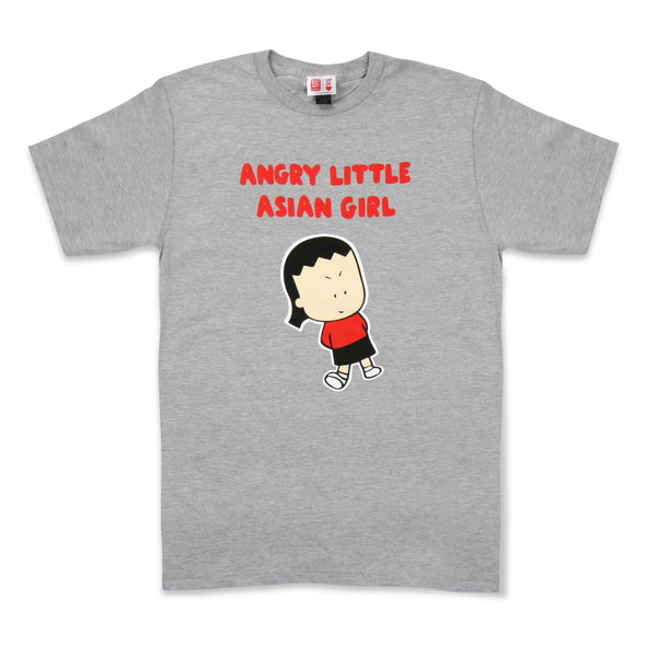 Angry Little Asian Girl ADULT tshirt