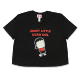 Angry Little Asian Girl crop top flowy tshirt