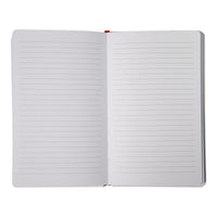 """Does this mean you love me? Only for today"" Lined Blank Journal"