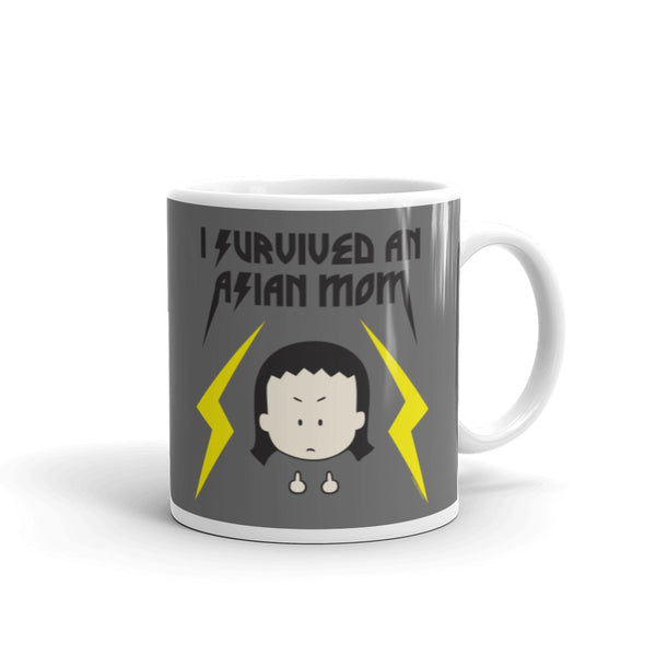 I Survived an Asian Mom Mug