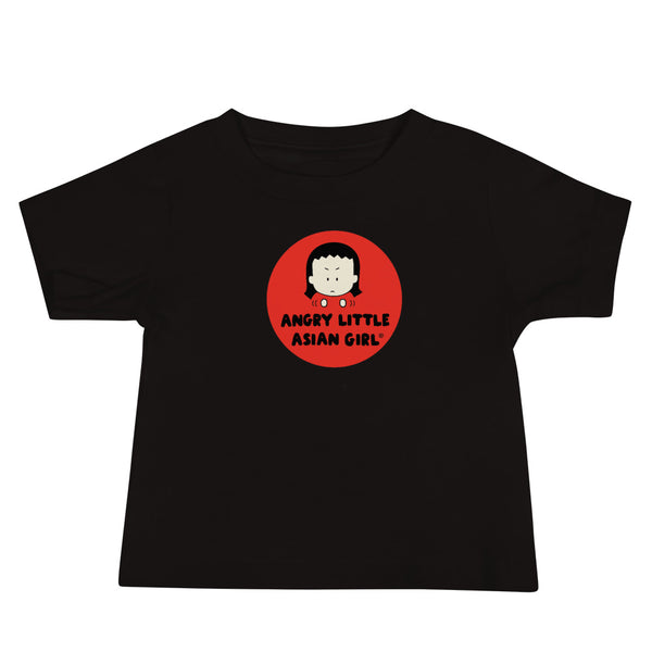 """Angry Little Asian Girl"" Baby Jersey Short Sleeve Tee"