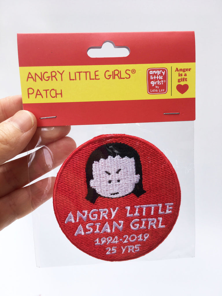 Patch Angry Little Asian Girl 1994-2019 25 YRS