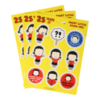 Sticker sheet pack ALAG 25 years