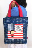 "Tote Bag and Wallet Set ""I'm an American! I have a right to be angry!"""