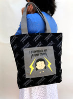 "Tote Bag and Wallet Set ""I survived an Asian mom"""