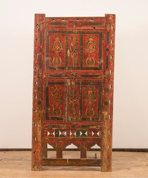 Antique Pakistani wedding armoire