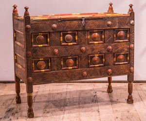 Antique Pakistani Grain Chest