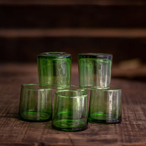 Beldi Green Glasses (set of 6)