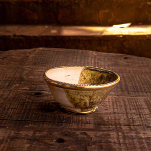 Tamegroute Bowls - brass rim