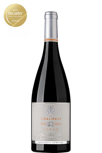 Midalidare Estate Grand Vintage Syrah 2016