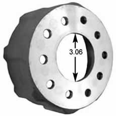 Coleman Racing Products - Cast Aluminum Brake Hat