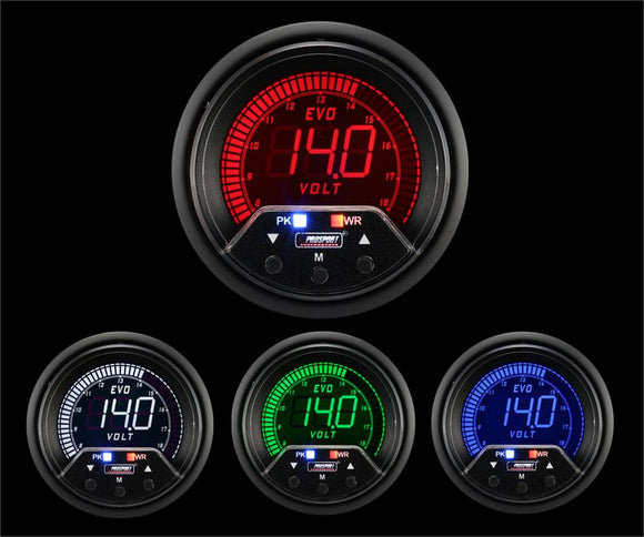 Prosport 60mm Premium Evo Electrical Volt Gauge