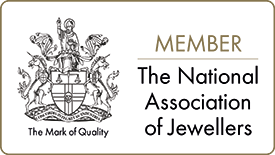 National Association of Jewellers logo.