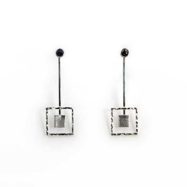 Centricity earrings by Rouaida.