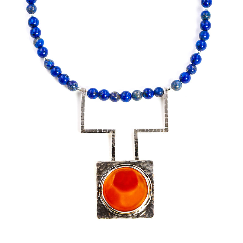 Eclipse necklace by Rouaida.