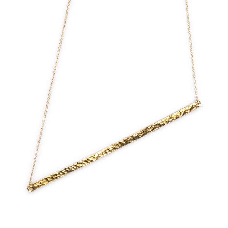 Gold plated Infinity necklace on sterling silver by Rouaida.