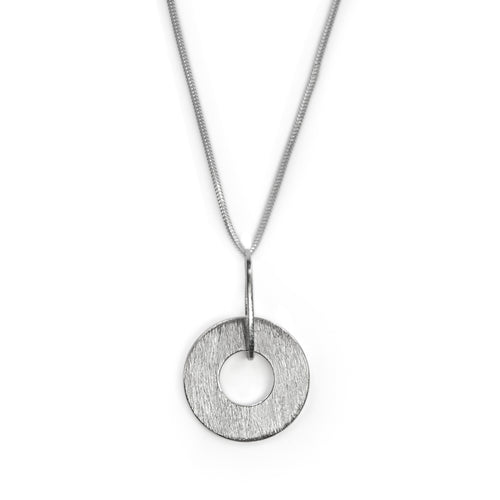Sterling silver Origin necklace by Rouaida.