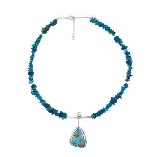 Sea Spray necklace by Rouaida.