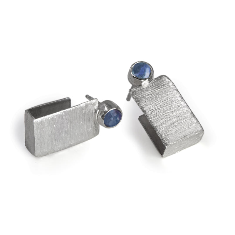Switchback earrings by Rouaida.