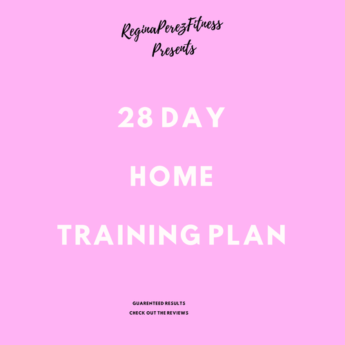 AT HOME TRAINING PLAN w/ MEAL PLAN