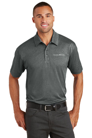 Trace Heather Polo. PA Logo
