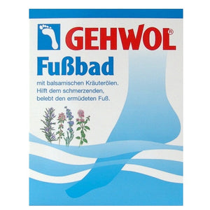 Gehwol Blue Foot Bath Sachet at The Summit Spa