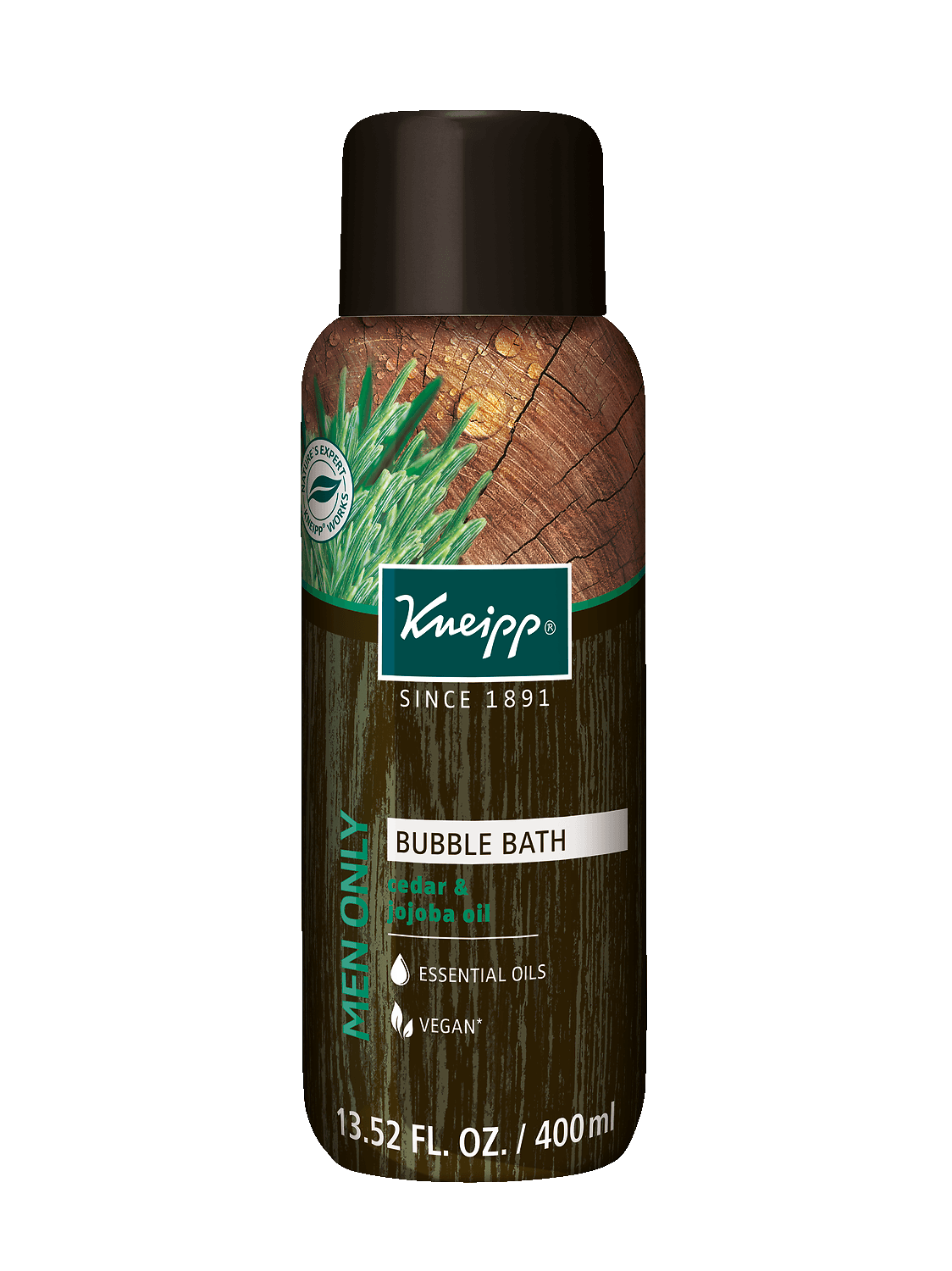 Kneipp Men Only Bubble Bath 400 ml at the Summit Spa