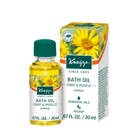Kneipp Arnica Joint & Muscle Herbal bath 20 ml at the Summit Spa