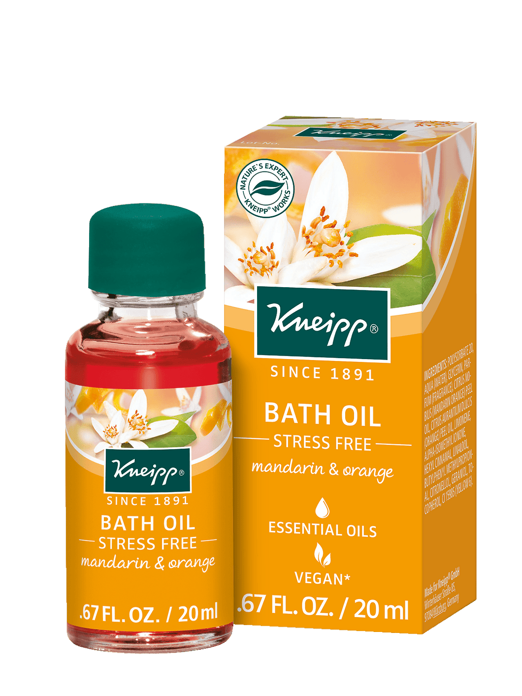 Kneipp Stress Free Herbal Bath 20 ml