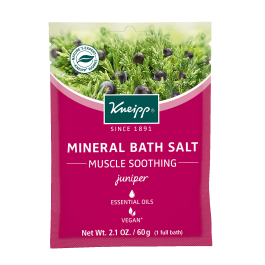 Kneipp Muscle Soothing Juniper Bath Salt at the Summit Spa