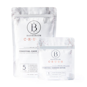 Bathorium Charcoal Garden Detox Crrush at The Summit Spa