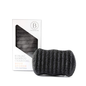 Bathorium Konjac Bamboo Charcoal Body Sponge at The Summit Spa