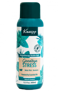 Kneipp Goodbye Stress Rosemary & Water Mint Aromatherapy Bubble Bath
