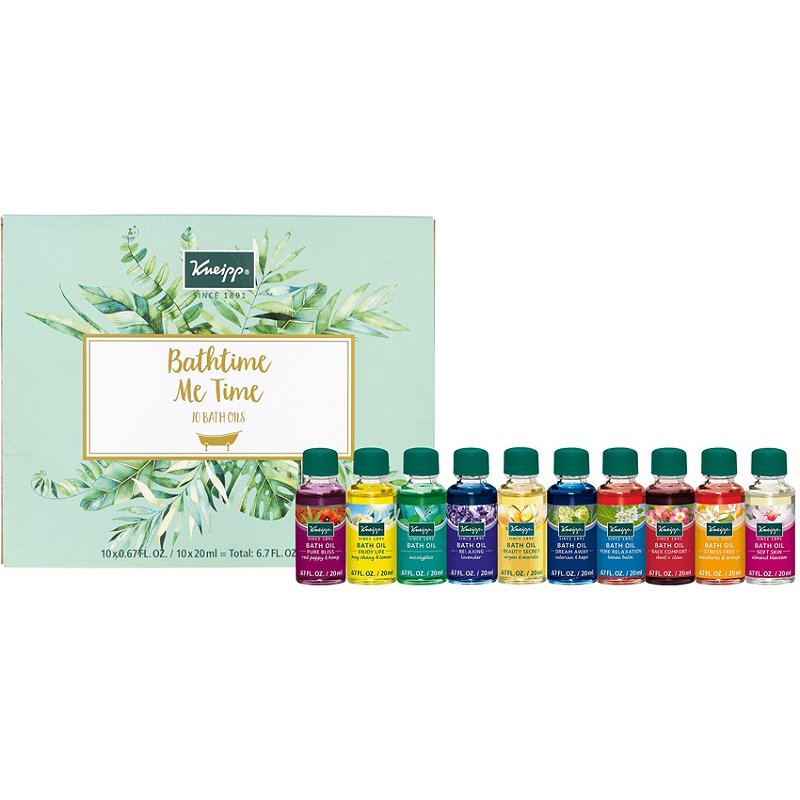 Kneipp Bathtime Me Time 10 piece Bath Oil Collection at The Summit Spa